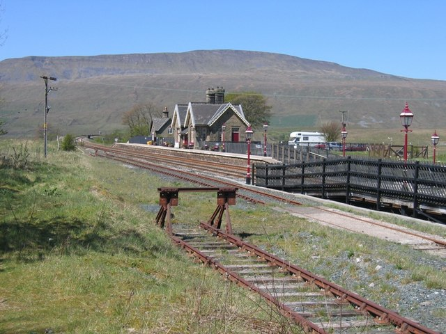 Ribblehead station from the sidings