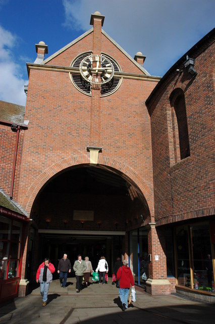 The Crowngate Shopping Centre, Worcester