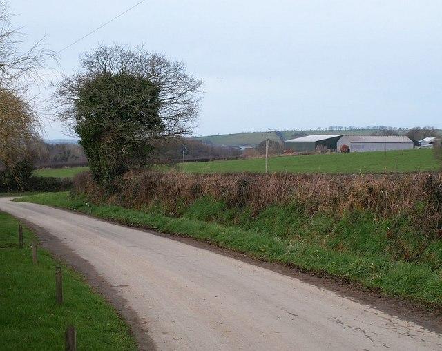 Lane to Trevallett