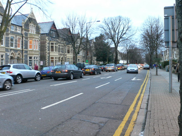 Cathedral Road, Cardiff