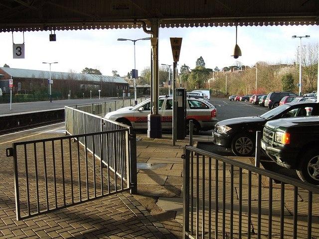 Car park, Newton Abbot station