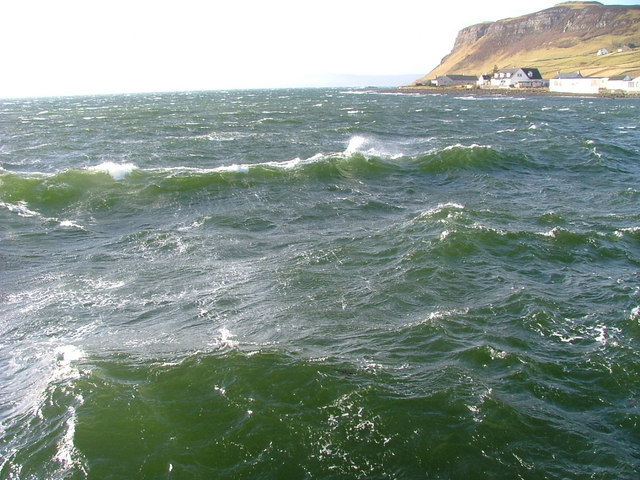 Rough Water on Uig Bay
