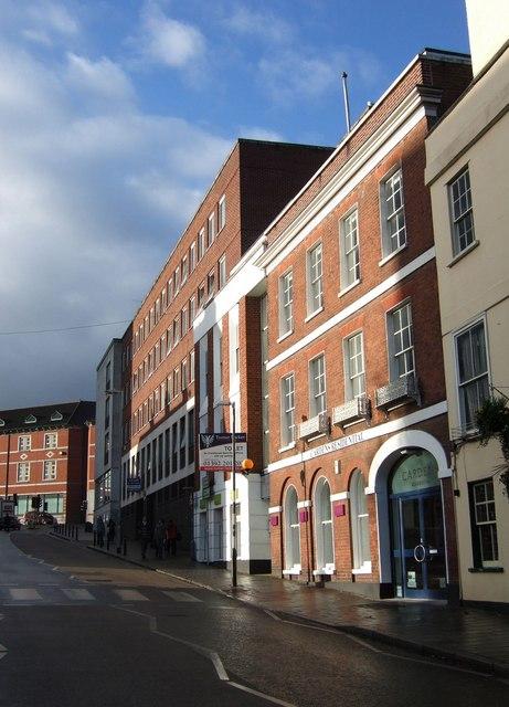 Longbrook Street, Exeter