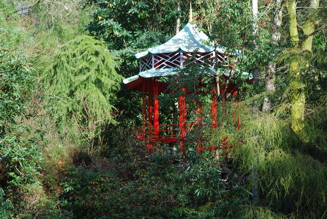 Pagoda Tsieineaidd Portmeirion Chinese Pagoda