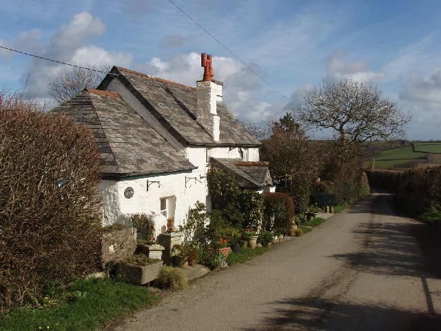 Cottage by Trefrida