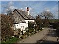 SX1996 : Cottage by Trefrida by David Hawgood