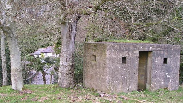 Pillbox from Second World War