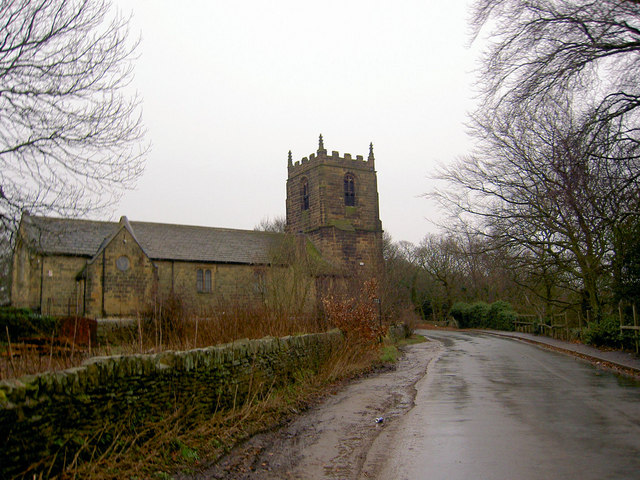 The former High Hoyland Church from Litherop Road