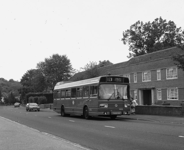 Old Lodge Lane bus terminus, Purley, Surrey