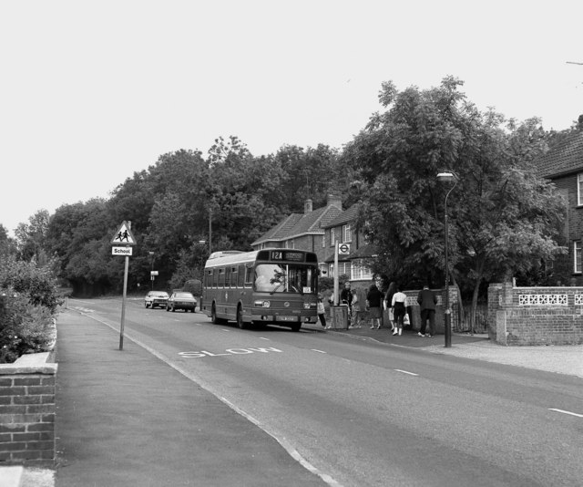 Old Lodge Lane bus terminus