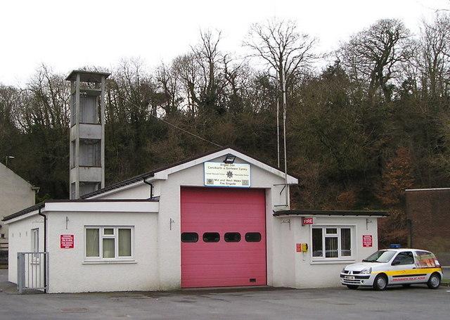 Newcastle Emlyn Fire Station