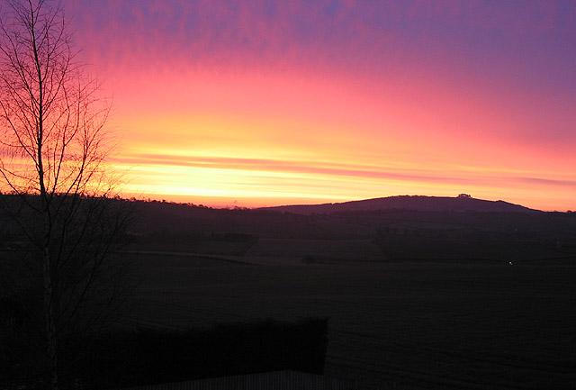 Leap year sunrise