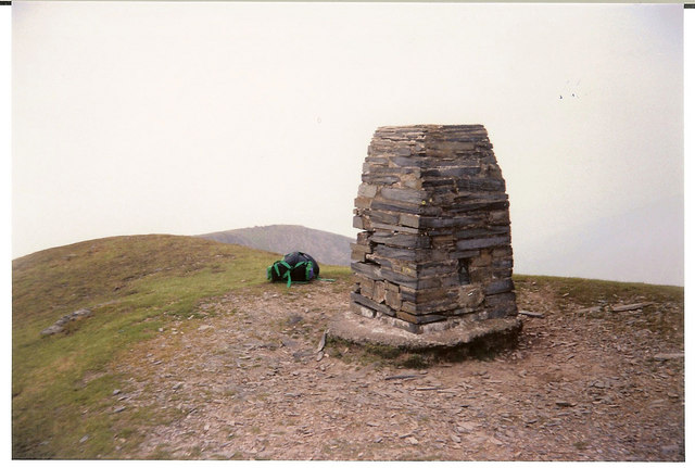 Moelwyn  Mawr Triangulation Pillar