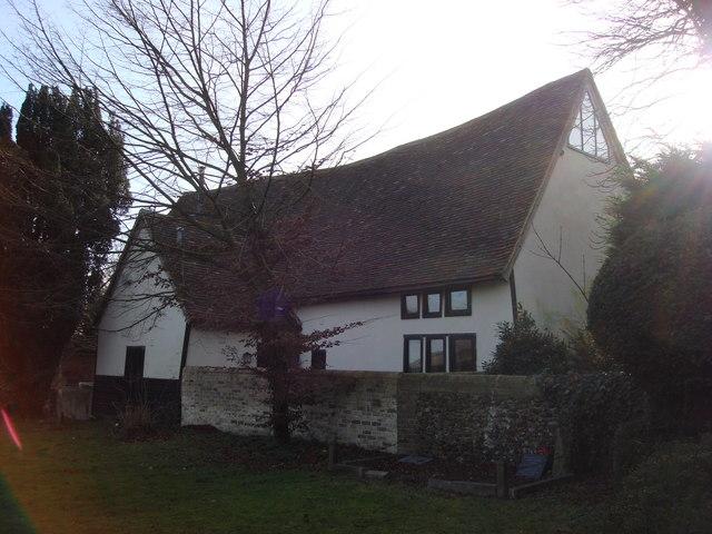 Converted barn in Borley