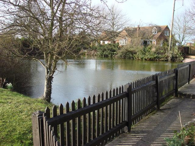 Pond in Borley