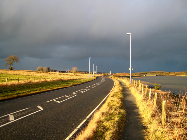 The road out of Newburgh