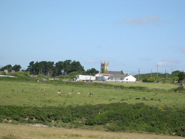 Knockmahon from former coastguard station