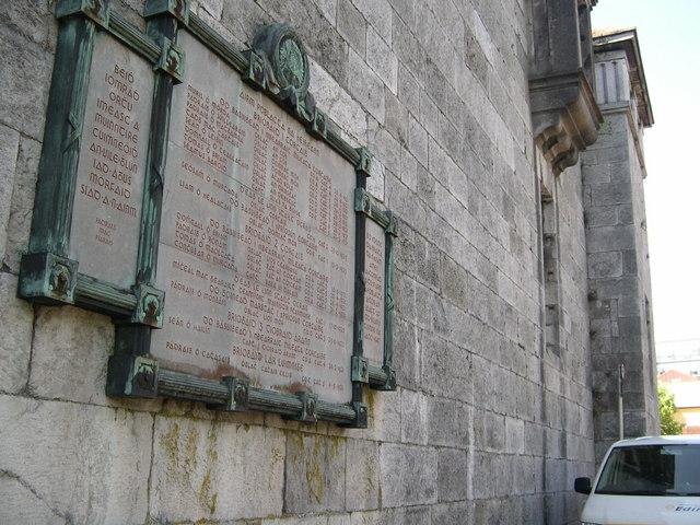 Cork Male Prison, Memorial