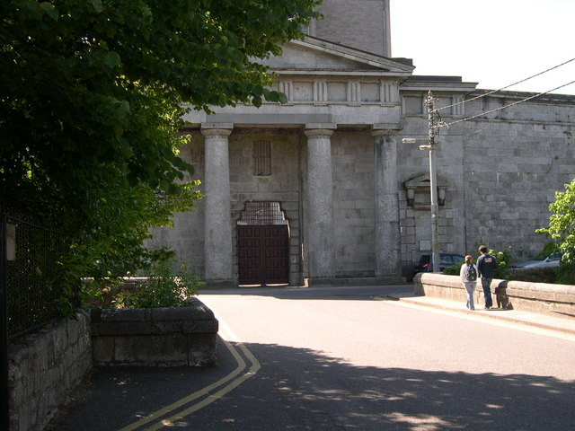 Façade of Cork Male Prison