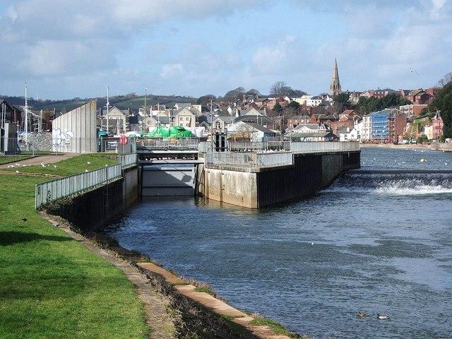 Sluice gate, Trew's Weir