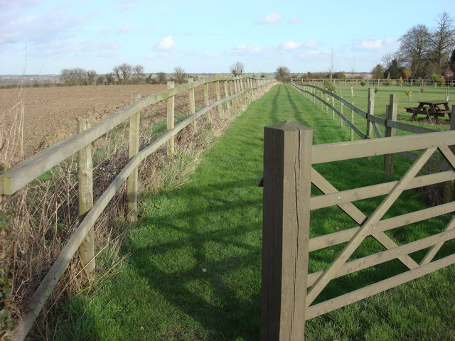 Footpath to the north of Borley