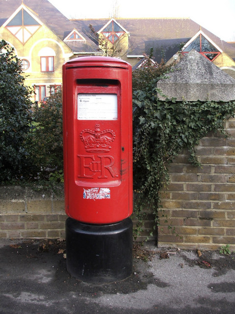 Elizabeth II Pillar Box, outside Broxbourne Civic Offices