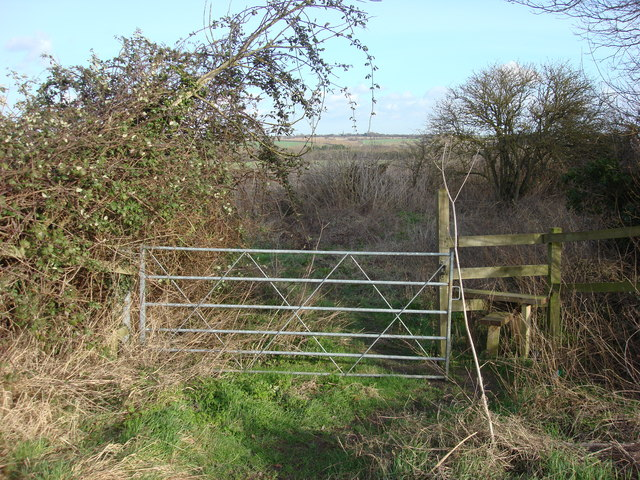Stile on Footpath to the north of Borley
