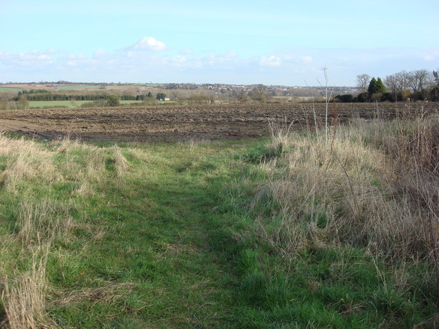 Footpath and Field to the north of Borley