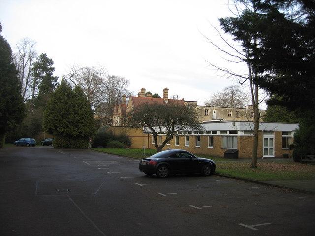 Car park for Douglas House off Bentley Road