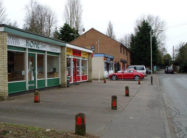 Lock-up shops, Sandy Lane, Old Lakenham