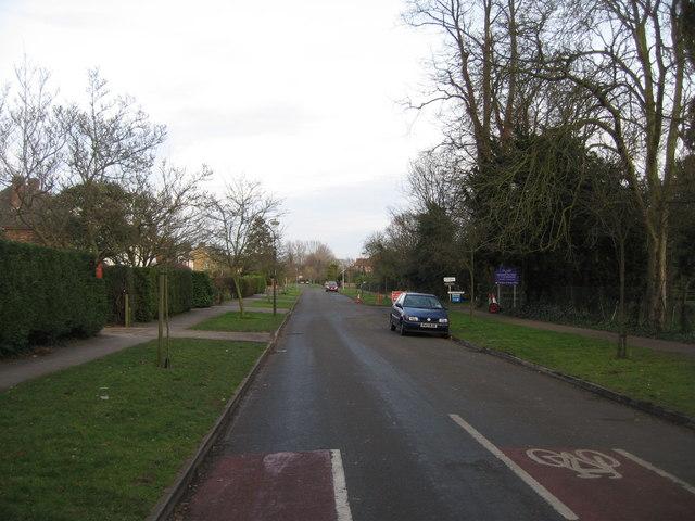 Porson Road view