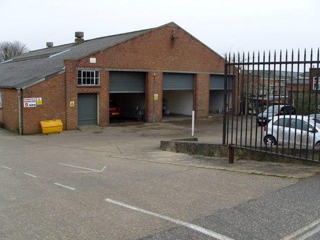 Car Paintshop and repair centre, Bessemer Road