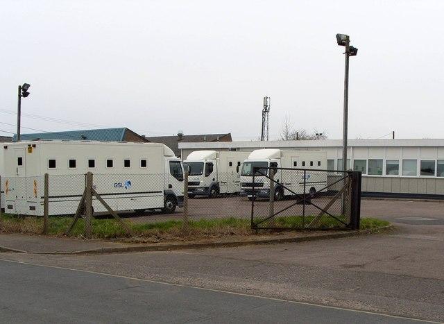 Prison Van depot, Bessemer Road
