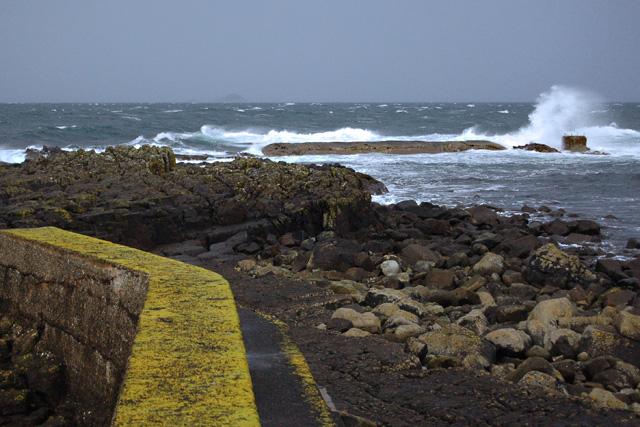 Camas Mor breakwater