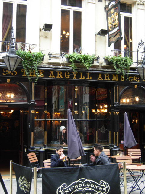 The Argyll Arms, Argyll Street