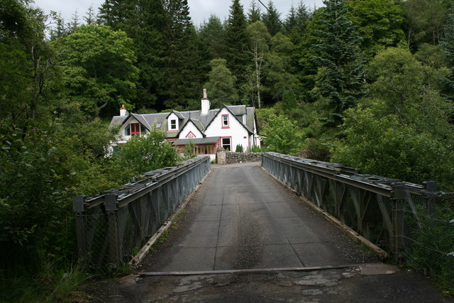 House across the Bridge of Dalrulzion