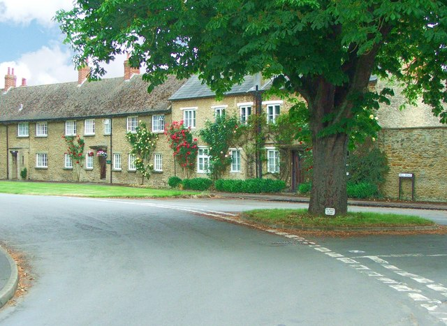 Three roads join in Stratton Audley