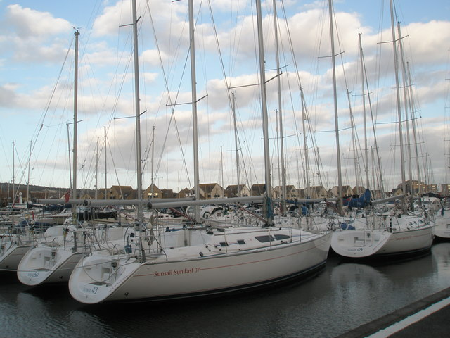 New yachts for sale at Port Solent