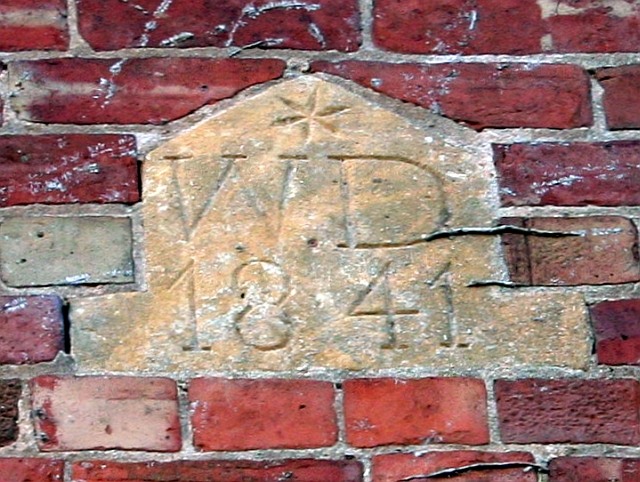 Carved Plaque, Tuck Mill