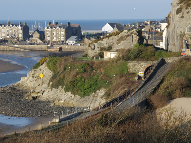 The Quay seen from Borthwen Terrace