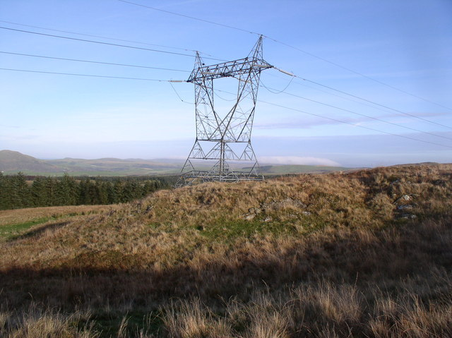 Pylon on Smyrton Hill