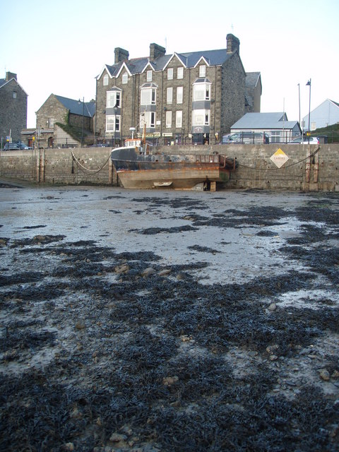 The Quay at low tide