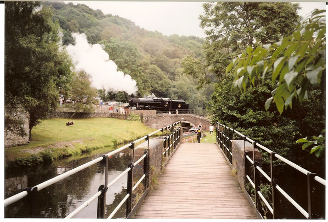 Consall Forge Footbridge