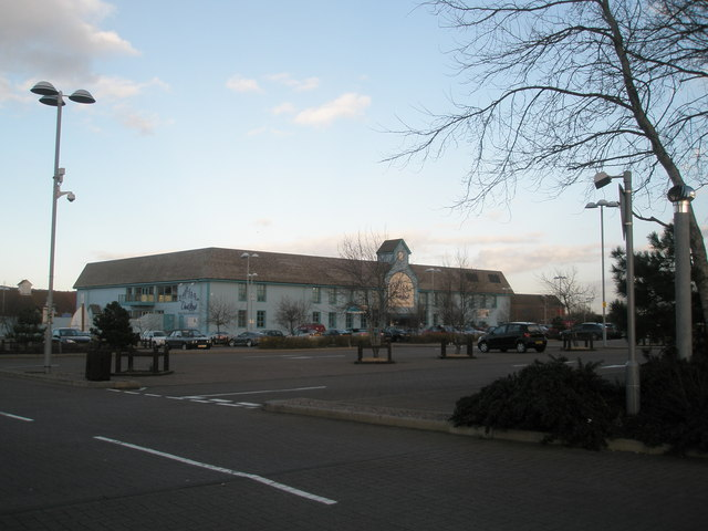 """David Lloyd's"" from Port Solent approach road"