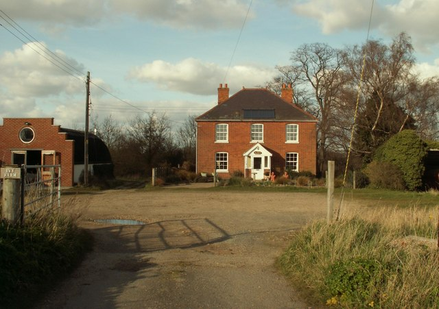 The farmhouse at Ivy Farm