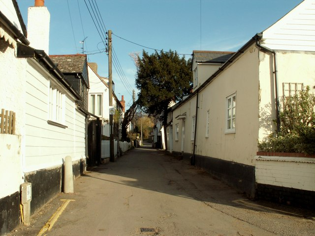 Old houses in The Lane