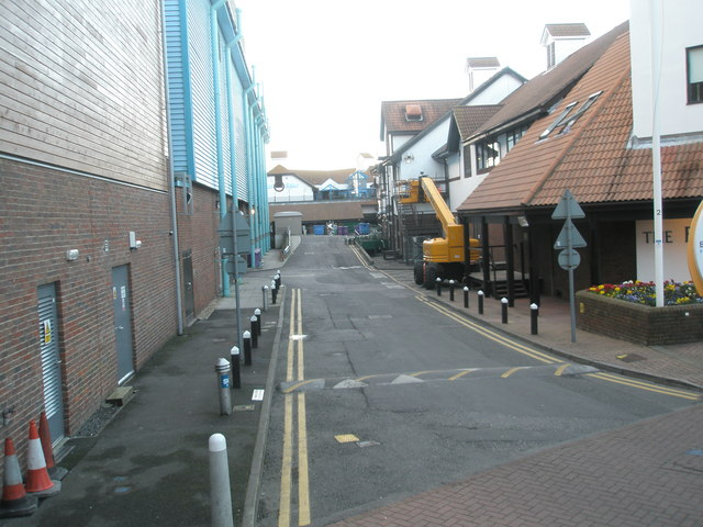 Service Road at Port Solent