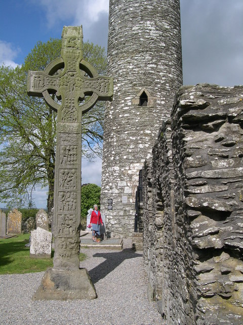 High Cross and Round Tower at Monasterboice