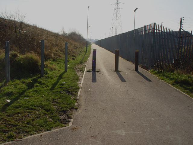Cycle Track to the docks
