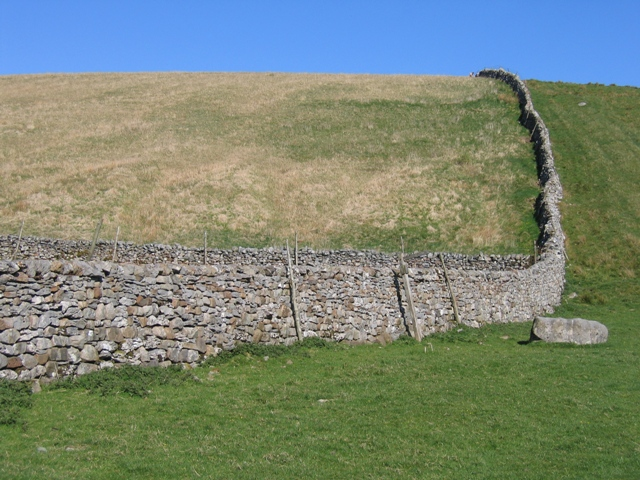 Drystone wall on Dismal Hill